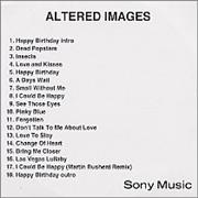 Click here for more info about 'Altered Images - Altered Images'