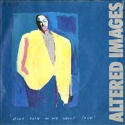 Click here for more info about 'Altered Images - Don't Talk To Me About Love'