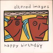Click here for more info about 'Altered Images - Happy Birthday - Paper label + Sleeve'