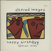 Click here for more info about 'Altered Images - Happy Birthday (Dance Mix)'