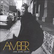 Click here for more info about 'Amber - One More Night'