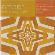 Click here for more info about 'Amber - This Is Your Night'