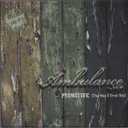 Click here for more info about 'Ambulance Ltd - Primitive (The Way I Treat You) - Green Vinyl'