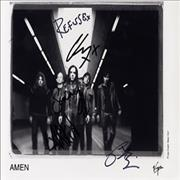 Click here for more info about 'Amen - Autographed Publicity Photograph'