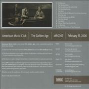 Click here for more info about 'American Music Club - The Golden Age'