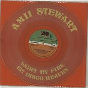 Click here for more info about 'Amii Stewart - Light My Fire - clear vinyl'