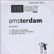 Amsterdam Takin' On The World UK CD-R acetate Promo