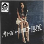 Amy Winehouse Back To Black - White Vinyl - Sealed UK vinyl LP