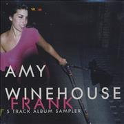 Click here for more info about 'Amy Winehouse - Frank - 5 Track Album Sampler'