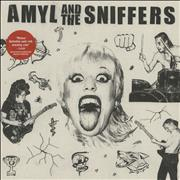 Click here for more info about 'Amyl And The Sniffers - Amyl And The Sniffers - Egg Splatter Vinyl'