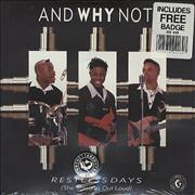 Click here for more info about 'And Why Not? - Restless Days (She Screams Out Loud) - Sealed'