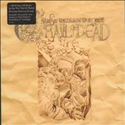 "And You Will Know Us By The Trail Of Dead Another Morning Stoner - Khaki + Poster UK 7"" vinyl"