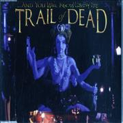 And You Will Know Us By The Trail Of Dead Madonna UK CD album Promo