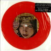 "And You Will Know Us By The Trail Of Dead Wasted State Of Mind - Red Vinyl USA 7"" vinyl"