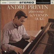 Click here for more info about 'André Previn Plays Songs By Vernon Duke'