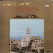 Click here for more info about 'André Previn - Mendelssohn: Italian Symphony/ Prokofiev: Classical Symphony'