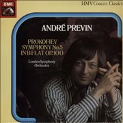 Click here for more info about 'André Previn - Prokofiev Symphony No. 5 in B Flat, Op. 100'