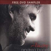 Click here for more info about 'Amore - DVD Sampler'