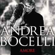 Andrea Bocelli Amore UK CD album