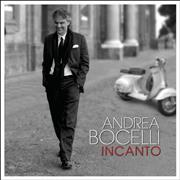 Andrea Bocelli Incanto UK 2-disc CD/DVD set
