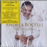 Andrea Bocelli My Christmas - Sealed Philippines CD album