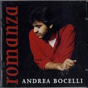 Andrea Bocelli Romanza UK CD album