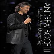 Andrea Bocelli Under The Desert Sky UK DVD