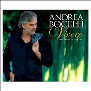 Andrea Bocelli Vivere - Live In Tuscany UK 2-disc CD/DVD set