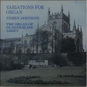 Click here for more info about 'Andrew Armstrong - Variations For Organ'