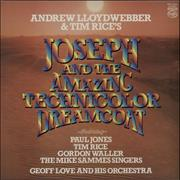 Click here for more info about 'Andrew Lloyd Webber & Tim Rice - Joseph And The Amazing Technicolor Dreamcoat'