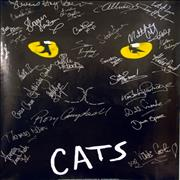 Click here for more info about 'Andrew Lloyd Webber - Cats - Autographed by the cast'