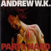 Click here for more info about 'Andrew W.K. - Party Hard'