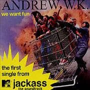 Click here for more info about 'Andrew W.K. - We Want Fun'