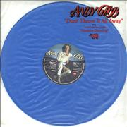 Click here for more info about 'Andy Gibb - Don't Throw It All Away - Blue Vinyl'