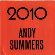 """Andy Summers 2010 USA 7"""" vinyl"""