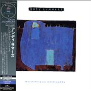 Andy Summers Mysterious Barricades Japan CD album Promo
