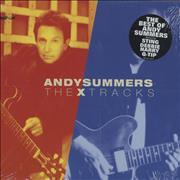Andy Summers The X Tracks USA CD album