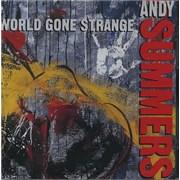Andy Summers World Gone Strange USA CD album