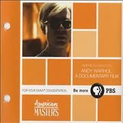 Click here for more info about 'Andy Warhol - American Masters - Andy Warhol: A Documentary Film'