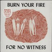 Click here for more info about 'Angel Olsen - Burn Your Fire For No Witness - White Vinyl'