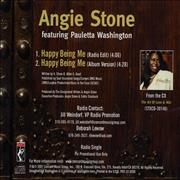 Click here for more info about 'Angie Stone - Happy Being Me'
