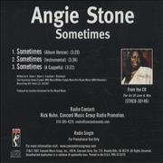 Click here for more info about 'Angie Stone - Sometimes'