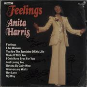 Click here for more info about 'Anita Harris - Feelings - Autographed'