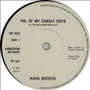 Click here for more info about 'Ann Breen - Pal Of My Cradle Days'