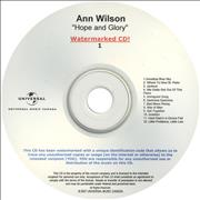 Click here for more info about 'Ann Wilson - Hope And Glory'