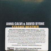 Click here for more info about 'Anna Calvi - Strange Weather'