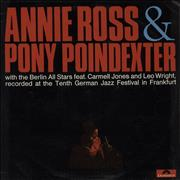 Click here for more info about 'Annie Ross - Annie Ross & Pony Poindexter - EX'