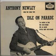 Click here for more info about 'Anthony Newley - Idle On Parade EP - 2nd'