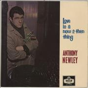 Click here for more info about 'Anthony Newley - Love Is A Now And Then Thing'