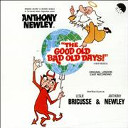 Click here for more info about 'Anthony Newley - The Good Old Bad Old Days!'